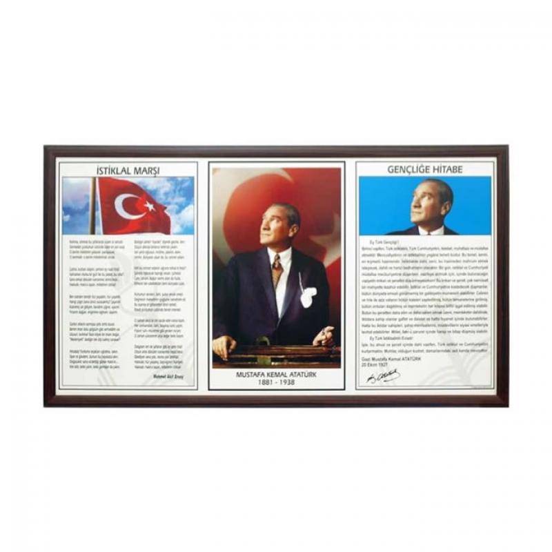 AKYAZI EĞİTİM MİLLİ LEVHA MDF ÇER. 3LÜ 50X90 0525