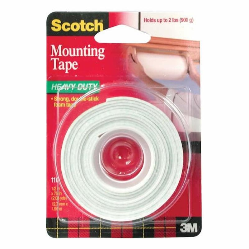 Scotch Çift Taraflı Bant 12,7mmx1,9m