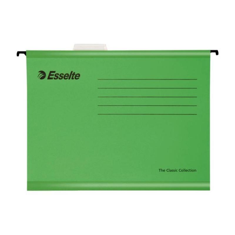 Esselte Askılı Dosya Pendaflex Eko 25li 9031 Yeşil